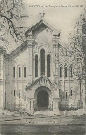 """CPA FRANCE 17 """" Saintes, Le temple cours Reverseaux"""""""