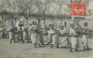 """Algerie CPA ALGERIE """"Scènes militaires"""" / BOXE"""