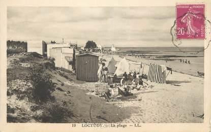 "CPA FRANCE 29 "" Loctudy, La plage"""