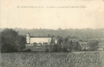 """CPA FRANCE 91 """"Marcoussis, La Ronce, vue générale et Bois des Carrés"""""""