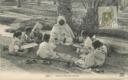 """CPA ALGERIE """"Maitre d'école arabe"""""""