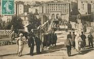 """Algerie CPA ALGERIE """"Constantine, sur le pont d'El Kantara"""""""