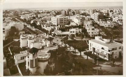 "CPSM MAROC ""Casablanca, le boulevard Gouraud"""