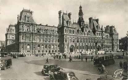 """CPSM FRANCE 75 """" Paris 4ème, L'Hôtel de Ville"""""""