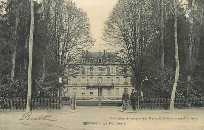 "CPA FRANCE 93 "" Sevran, La poudrerie"""
