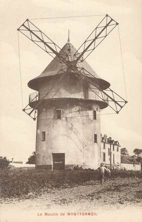 """CPA FRANCE 93 """" Montfermeil, Le moulin"""""""