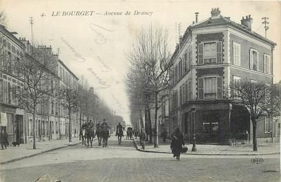 """CPA FRANCE 93 """" Le Bourget, Avenue de Drancy"""""""