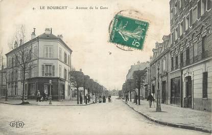 """CPA FRANCE 93 """" Le Bourget, Avenue de la gare"""""""