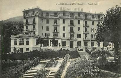 """CPA FRANCE 73 """"Brides les Bains, Royal Hôtel"""""""