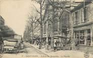 """93 Seine Saint Deni CPA FRANCE 93 """" St Ouen, Avenue des Batignolles, le marché"""""""