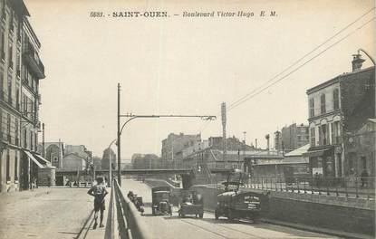 "CPA FRANCE 93 "" St Ouen, Boulevard Victor Hugo"""