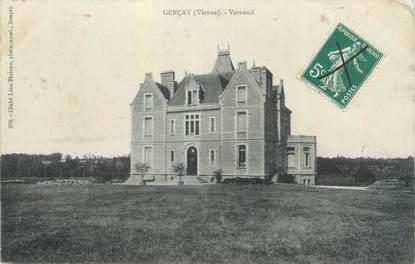 "CPA FRANCE 86 ""Gençay, Verneuil"""