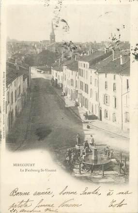 """CPA FRANCE 88 """" Mirecourt, Le Faubourg St Vincent'"""