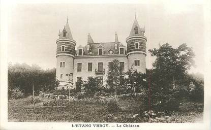 "CPA FRANCE 21 "" L'Etang Vergy, Le château"""