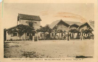 """CPA FRANCE 71 """" Chauvort, Hôtel Beaurivage"""""""