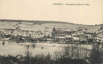 """CPA FRANCE 89 """" Dixmont, Vue générale"""""""