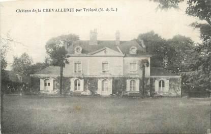 """CPA FRANCE 49 """" La Chevallerie, Le château"""""""