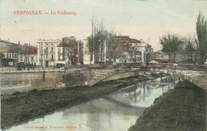 "CPA FRANCE 66 "" Perpignan, Le faubourg"""