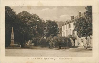 """CPA FRANCE 74 """" Bonneville, La Sous Préfecture"""""""
