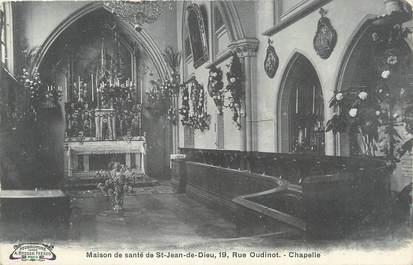 """CPA FRANCE 75 """" Paris 7ème, Maison de Santé de St Jean de Dieu, la chapelle"""""""