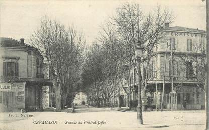 """CPA FRANCE 84 """" Cavaillon, Avenue du Général Joffre"""""""