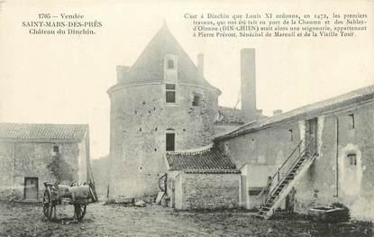 """CPA FRANCE 85 """" St Mars des Près, Château du Dinchin'"""