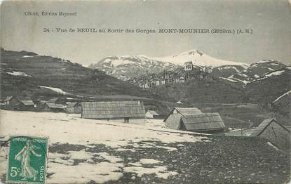 """CPA FRANCE 06 """" Beuil, Le Mont Mounier"""""""