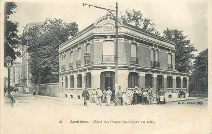 """CPA FRANCE 92 """"Asnières, Hôtel des Postes"""""""