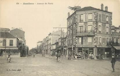 """CPA FRANCE 92 """"Asnières, Avenue de Paris"""""""