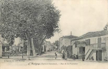 """CPA FRANCE 82 """" Montaigu, Rue de la Fontaine"""""""