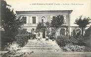 """82 Tarn Et Garonne CPA FRANCE 82 """" St Etienne de Tulmont, La Mairie et l'école des garçons"""""""
