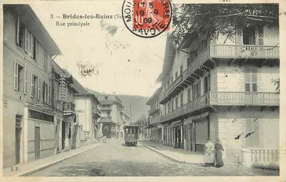 "CPA FRANCE 73 ""Brides les Bains, rue Principale"""