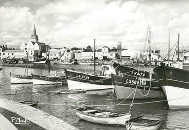"""CPSM FRANCE 85 """"Saint Gilles Croix de Vie, le Port"""""""