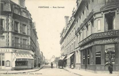 "CPA FRANCE 95 ""Pontoise, Rue Carnot"""