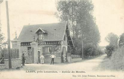 """CPA FRANCE 95 """"Lassy, Entrée du moulin"""""""