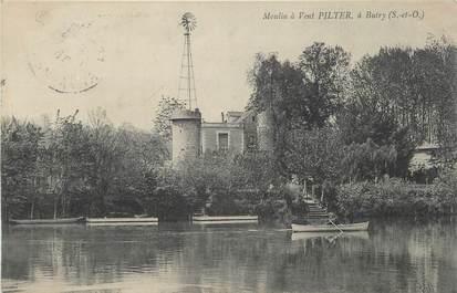 """CPA FRANCE 95 """"Butry, Le moulin à vent Pilter"""" / EOLIENNE"""