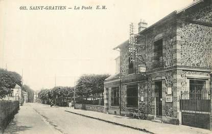 """CPA FRANCE 95 """"St Gratien, La Poste"""""""