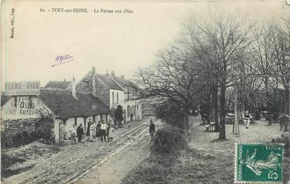 """CPA FRANCE 94 """" Ivry sur Seine, La ferme aux oies"""""""