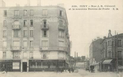 "CPA FRANCE 94 "" Ivry sur Seine, Rue JB Clément"""