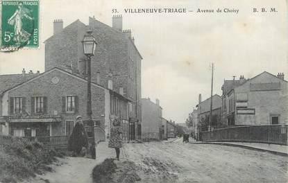 """CPA FRANCE 94 """" Villeneuve - Triage, Avenue de Choisy"""""""