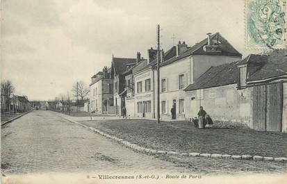 """CPA FRANCE 94 """"Villecresnes, La route de Paris"""""""