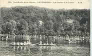 """94 Val De Marne CPA FRANCE 94 """"La Varenne, Les joutes à la lance"""""""