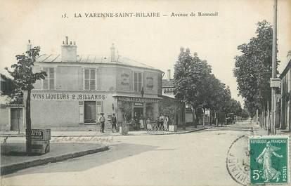 """CPA FRANCE 94 """"La Varenne St Hilaire, Avenue de Bonneuil"""""""
