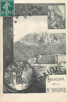 """CPA FRANCE 83 """" La Sainte Baume, Vues"""""""
