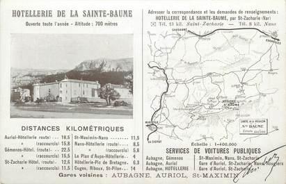 "CPA FRANCE 83 "" La Sainte Baume, L'Hotellerie"""