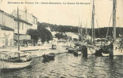"""CPA FRANCE 83 """" Saint Mandrier, Le Creux St Georges"""""""