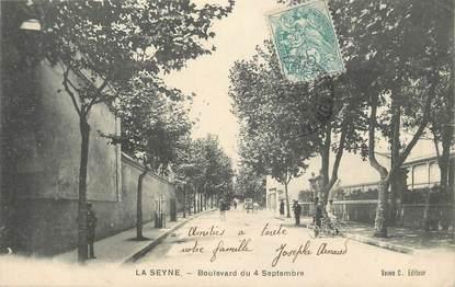 """CPA FRANCE 83 """" La Seyne sur Mer, Boulevard du 04 septembre"""""""