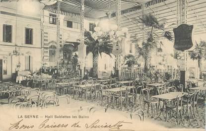 """CPA FRANCE 83 """" La Seyne sur Mer, Le hall Sablettes les Bains"""""""