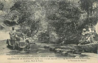 """CPA FRANCE 83 """"Vallée du Gapeau, La Chartreuse de Montrieux"""""""
