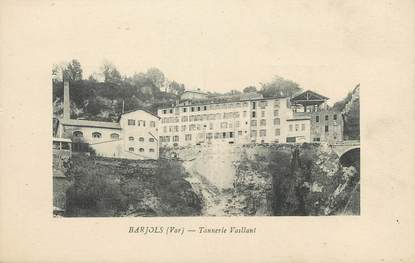 """CPA FRANCE 83 """"Barjols, Tannerie Vaillant"""""""